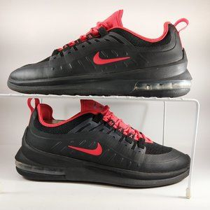 Nike Air Max Axis Sneakers Mens Size 9 Red Black